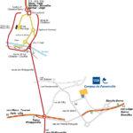 Plan d'accès au CCS à Couillet